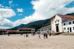 Villa de Leyva, with one of the largest plazas in South America