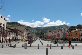 One of the Centro Historico's plazas