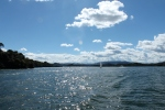 Cruising on Lake Guatape