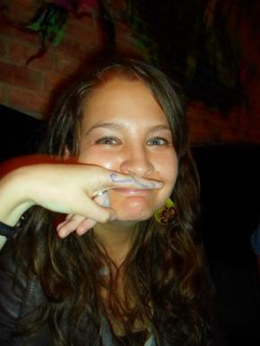 #17: Giving one another mustaches in public places, for example.
