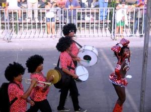 La Negrita Puloy, a Carnaval character