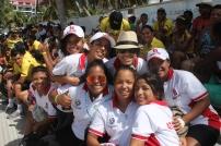 Selección Atlanticó Rugby Femenino with their swag